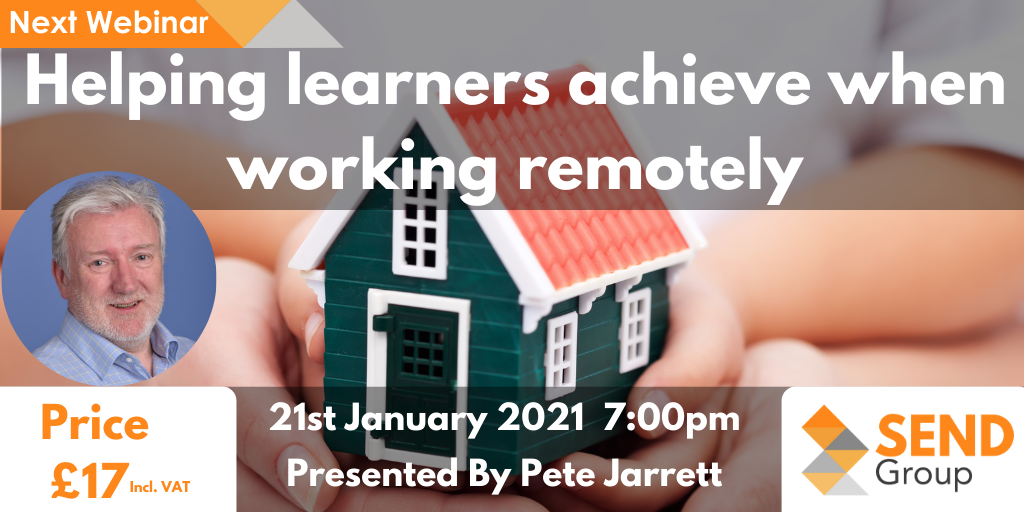 Helping learners achieve when working remotely