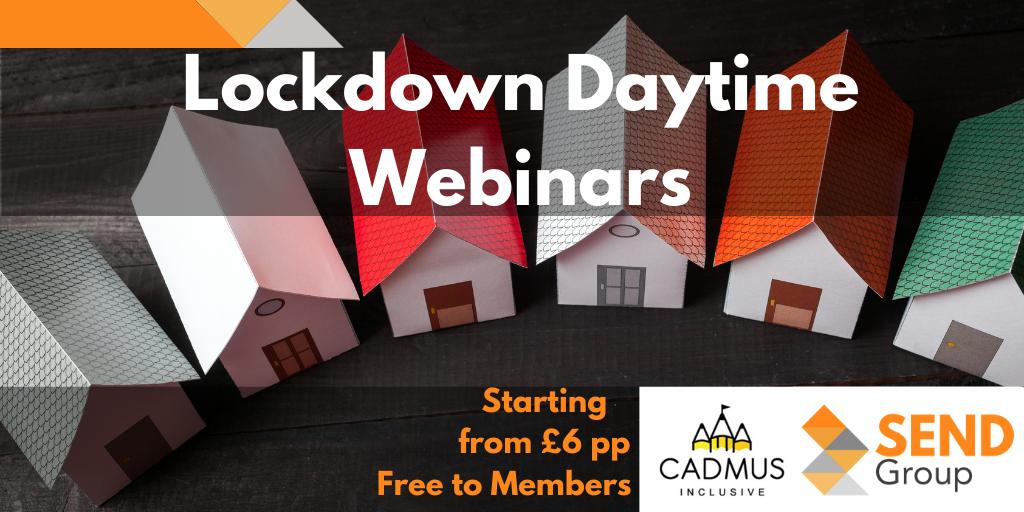 Lockdown Daytime Webinars