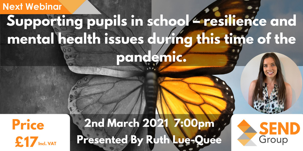 Supporting pupils in school – resilience and mental health issues during this time of the pandemic.
