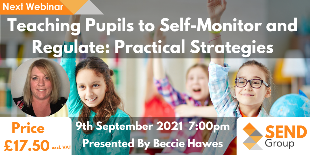 Teaching Pupils to Self-Monitor and Regulate: Practical Strategies